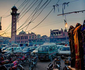 james longley, pakistan, street, dusk, rawalpindi, reportage