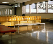 simon norfolk, gander airport, Canada, travel, air, airplane, midcentury, architecture