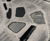 1985, Arizona, Utah, and New Mexico, mine, aerial, landscape, david maisel, mining